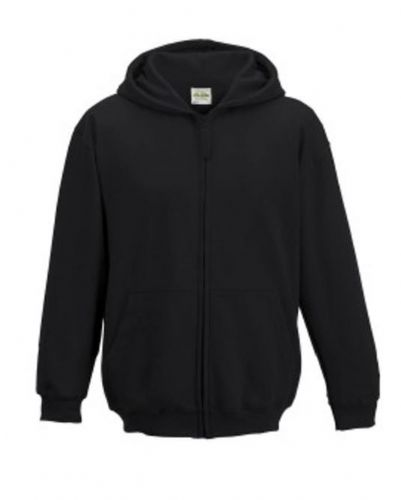 Woodland Gym Club Zipped Hoodie Black